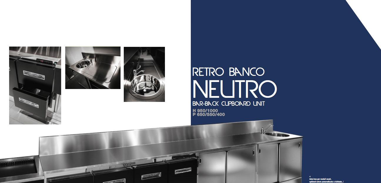 Retro Banco Neutro semilavorato