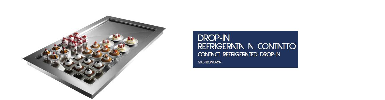 Drop-In Refrigerata a Contatto