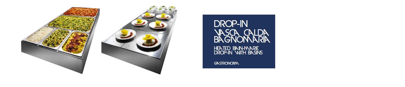 Drop-In Vasca Calda Bagnomaria